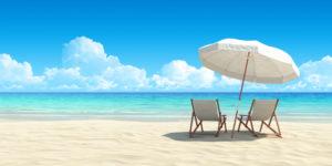 zomer, zee, strand, vakantie