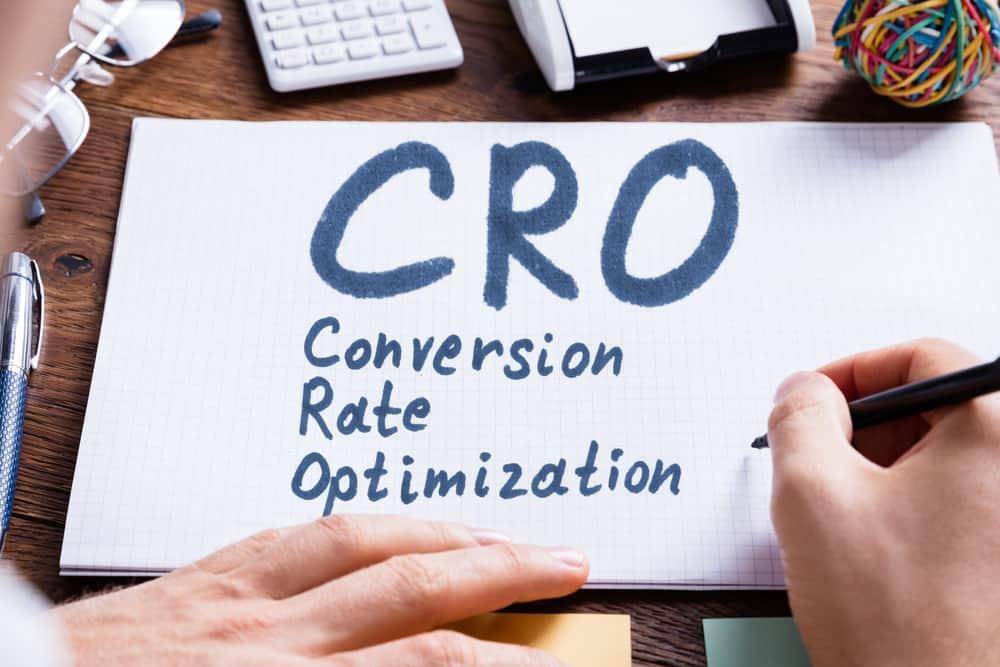 Conversie optimalisatie op papier geschreven